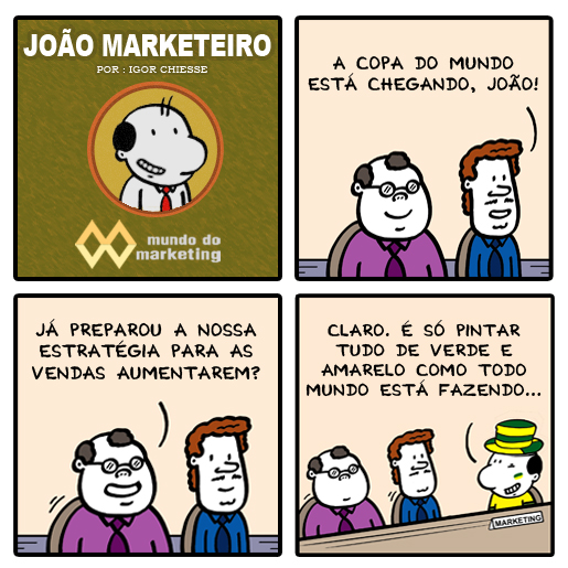 Marketing, Copa do Mundo, idéias